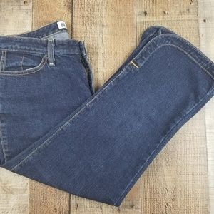 GAP Cropped Boot Cut Jeans Size 8 AT19